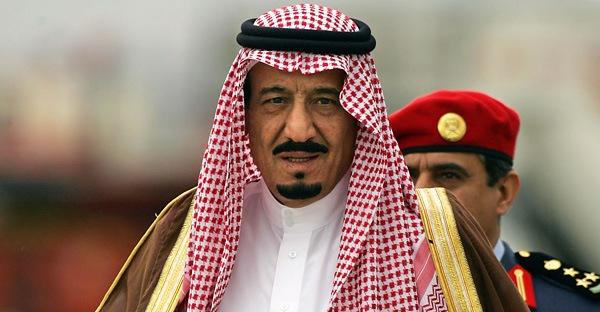 King Salman com dores após decapitações recentes