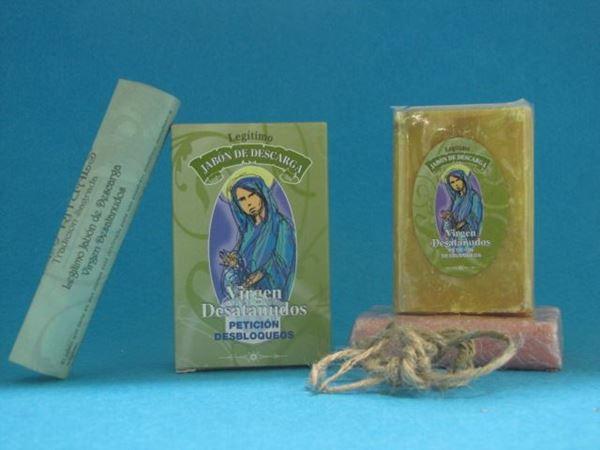 Jabón ritual Virgen desatanudos