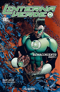 "Green Lantern: ""Renacimiento"" (Unlimited Editorial)"