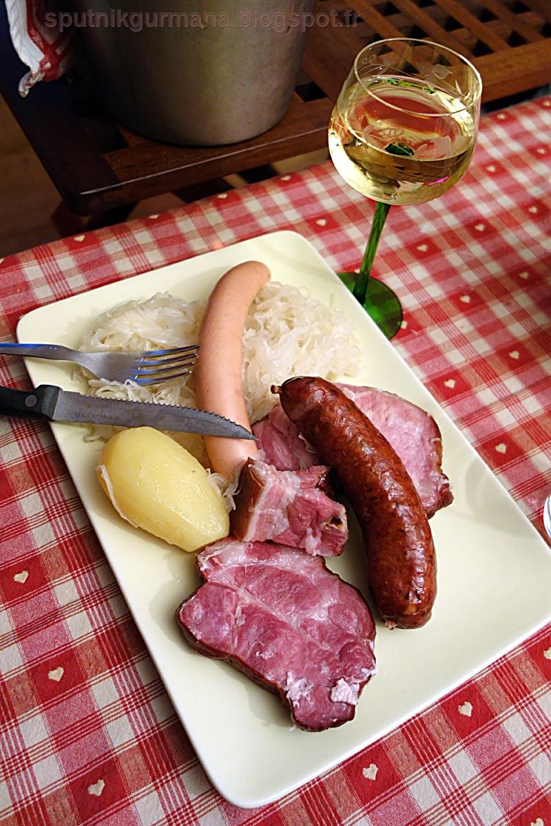 Эльзасское блюдо, шукрут