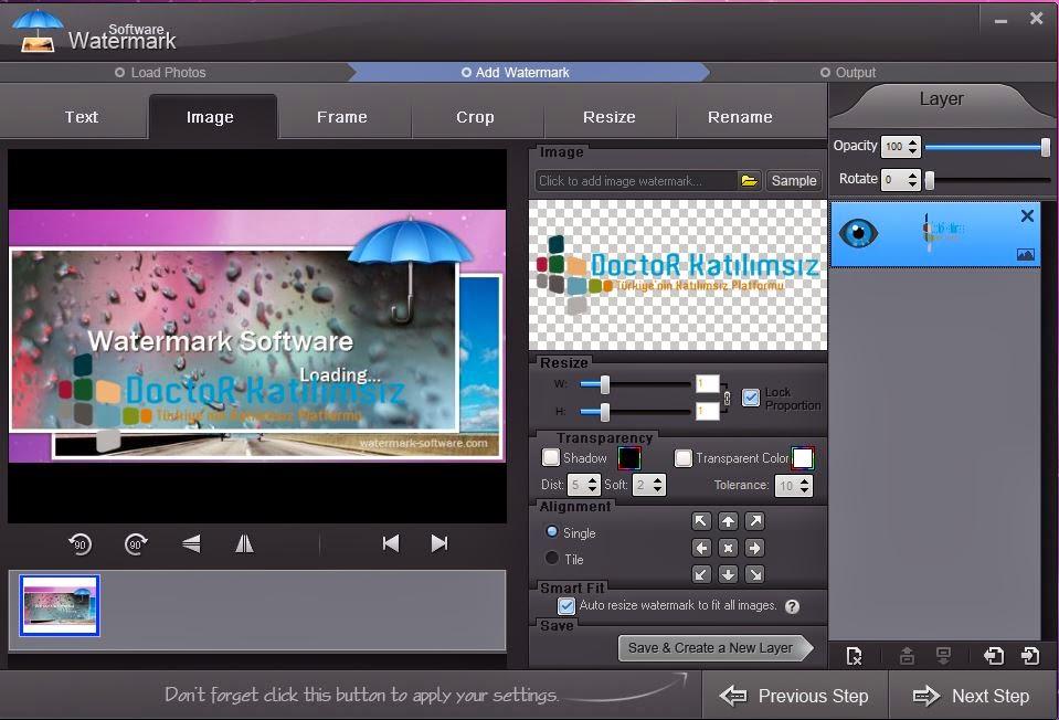 Watermark Software 6.2 Katılımsız indir