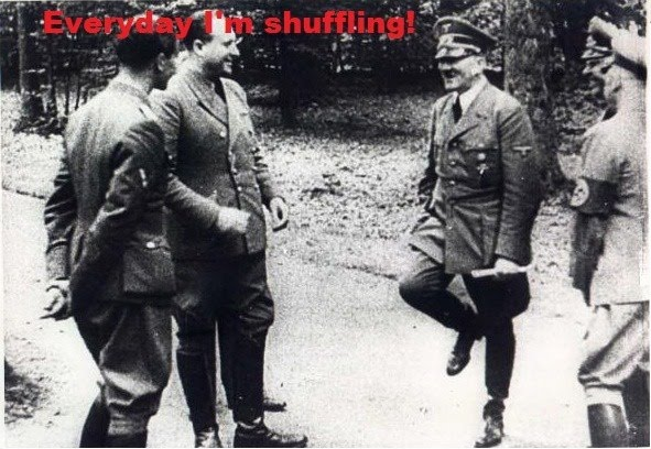 They Nazi That Coming - Everyday I'm Shuffling