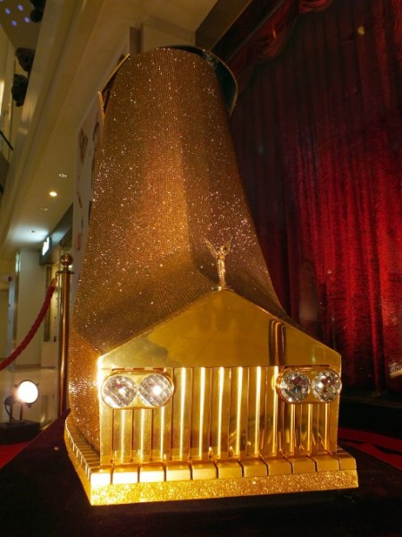 rolls royce, shoes, design, diamonds, international shoe design competition, 2012, guinness world records, high heel, chris lu, chinese