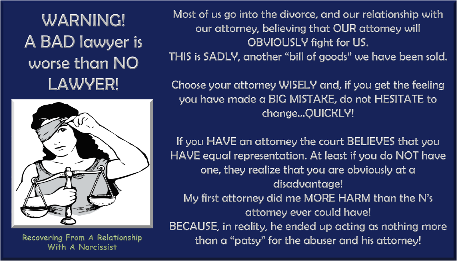 My Lawyer Is Not Fighting For Me >> Soulmates In Hell Example Of How A Bad Lawyer Can Be Worse