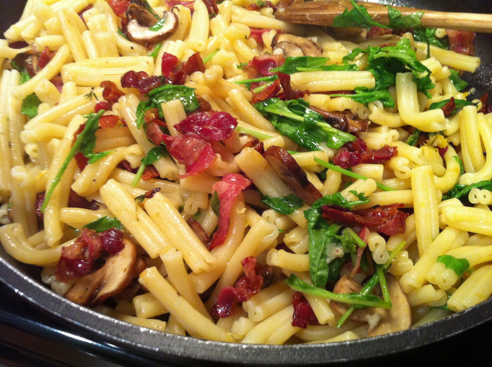 ... Feast - Every Kitchen Tells Its Stories: Taste of the Forest Pasta