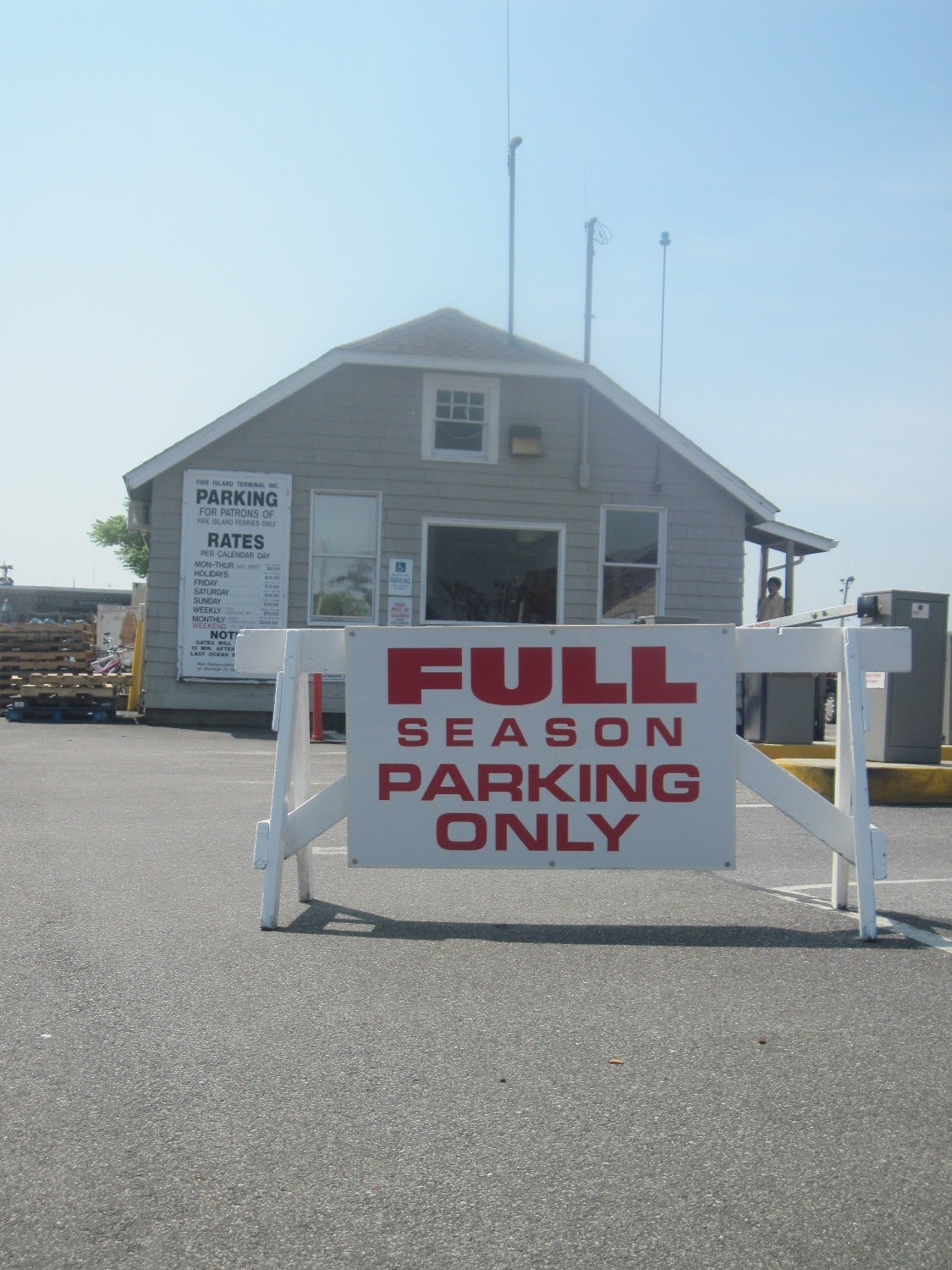 Fire Island Pines Parking