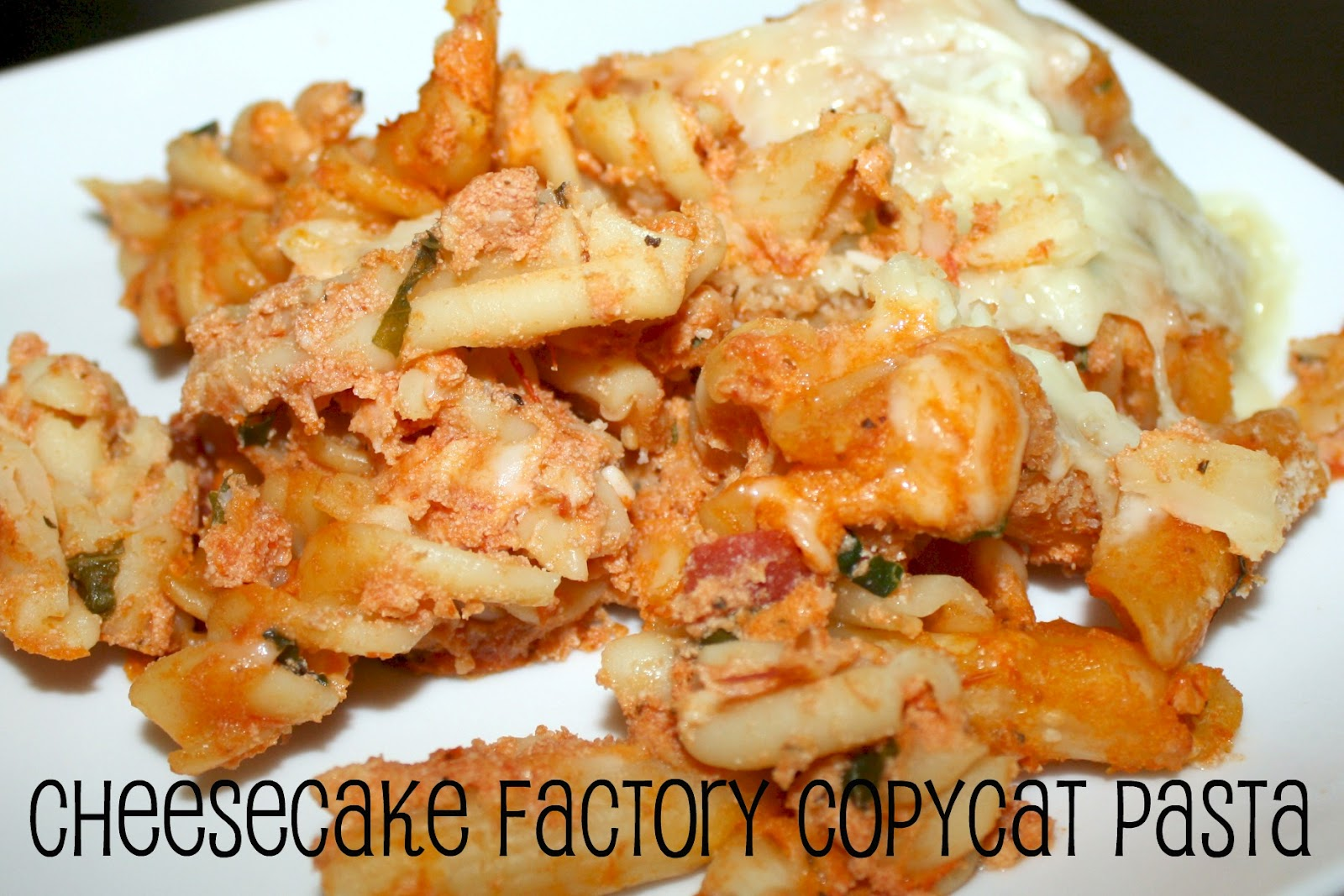 all things katie marie: Cheesecake Factory Copcat Four Cheese Pasta