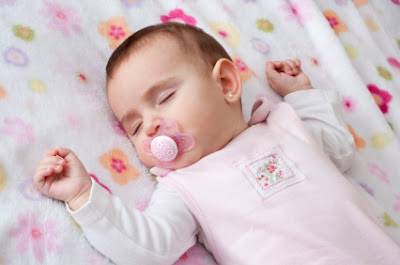 Cute baby girl sleeping picture