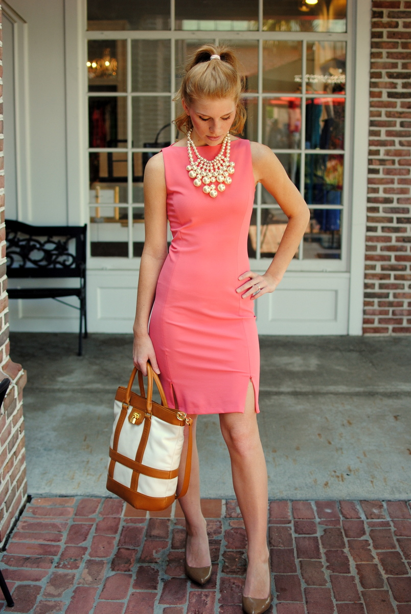 Blesk for Jewelry to wear with coral dress