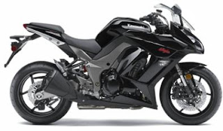 2011 Kawasaki Ninja 1000 Fire Black Color - Right Side