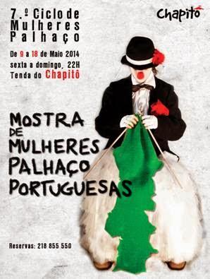 MOSTRA DE MULHERES PALHAÇO PORTUGUESAS