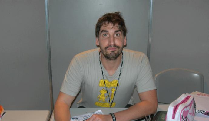 Daw ospite al Napoli Comicon 2014