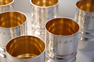 A set of Silver Goblets.