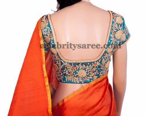 Khadi Silk Blouse Designs
