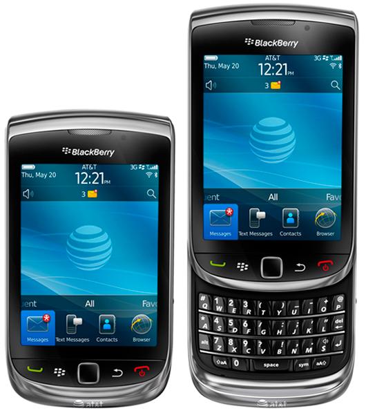 One touch flashlight blackberry