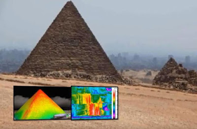 Strange Anomaly Found In Giza Pyramid By Thermal Scan, UFO Sightings