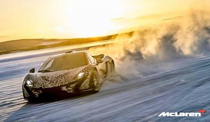 Koleksi Foto dan Gambar Mobil Sport McLaren P1 Terbaru