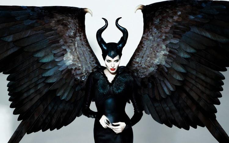 Gambar Maleficent Disney Animasi Bergerak Penyihir Angelina Jolie Bersayap