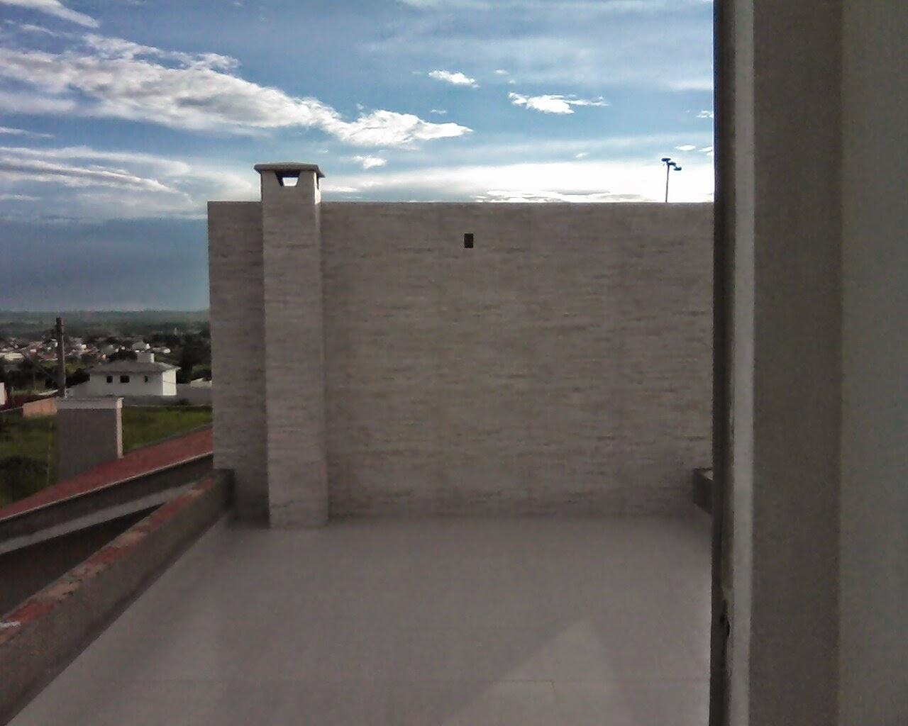 Terraço aberto fica por cima da área goumet por isso aparece o duto  #456C86 1280 1024