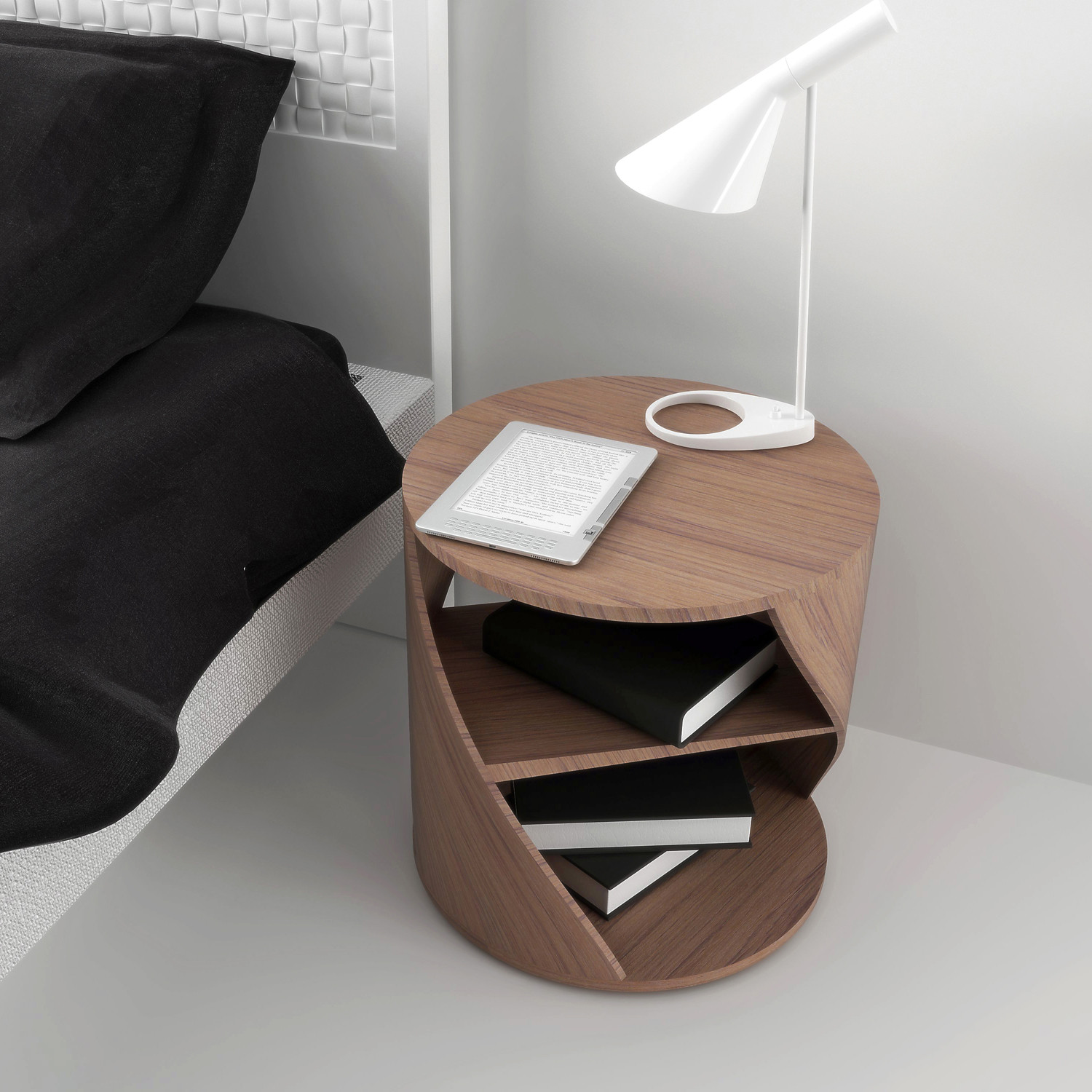 Mydna Small Table Wood by Joel Escalona