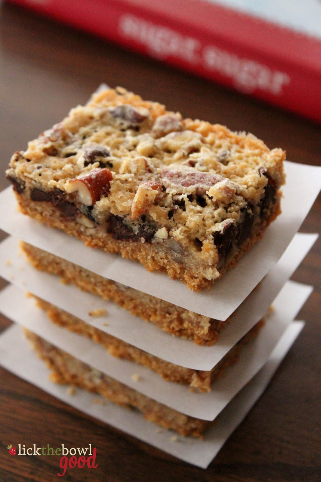 Derby Pie Bars Recipe — Dishmaps