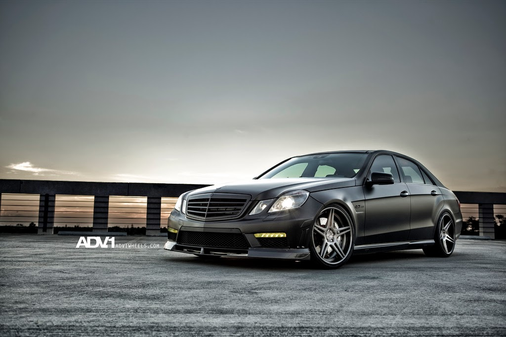 mercedes benz w212 e63 amg on adv1 benztuning. Black Bedroom Furniture Sets. Home Design Ideas