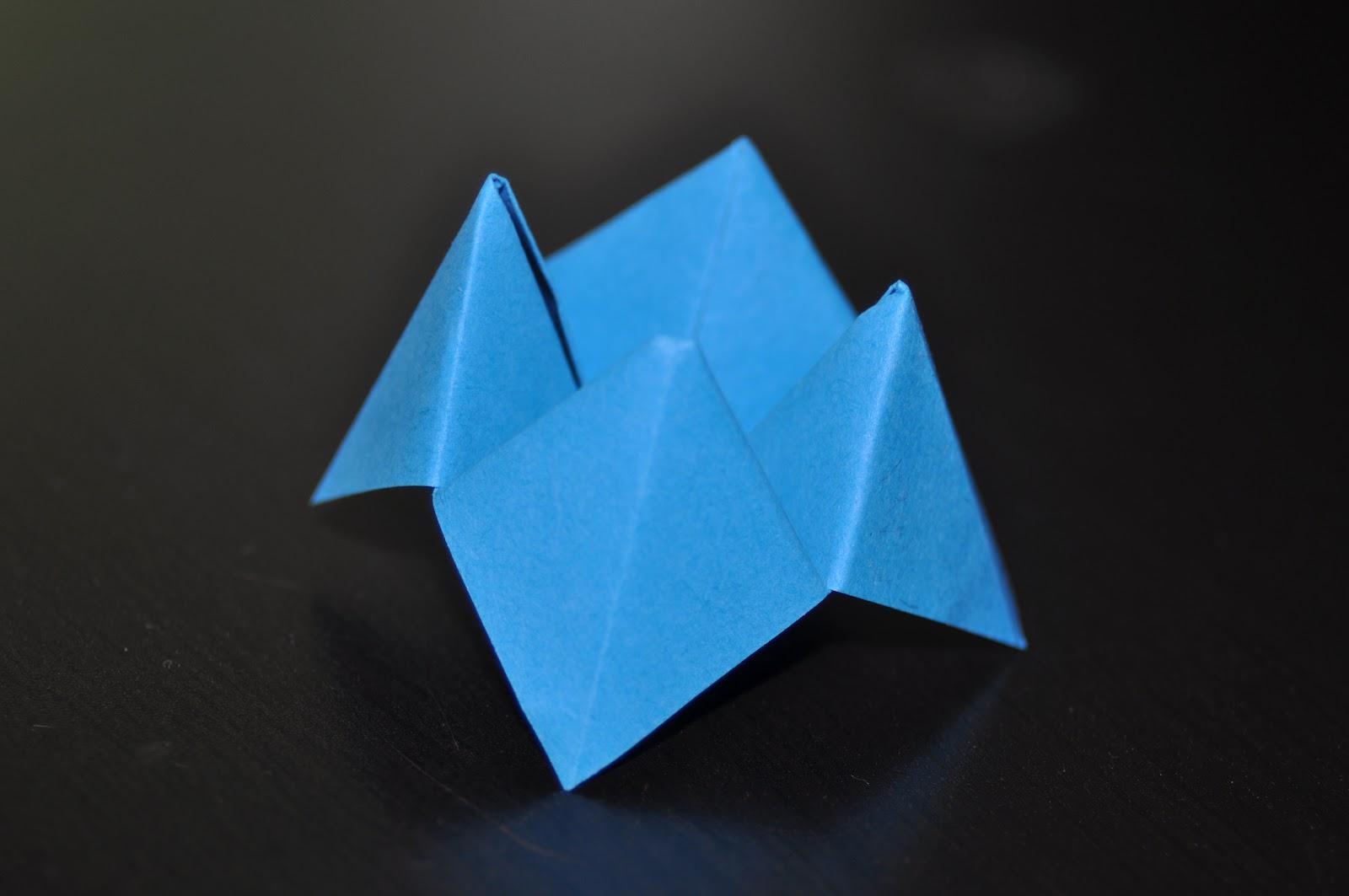 La grenouille active cocotte en papier - Fabriquer une cocotte en papier ...