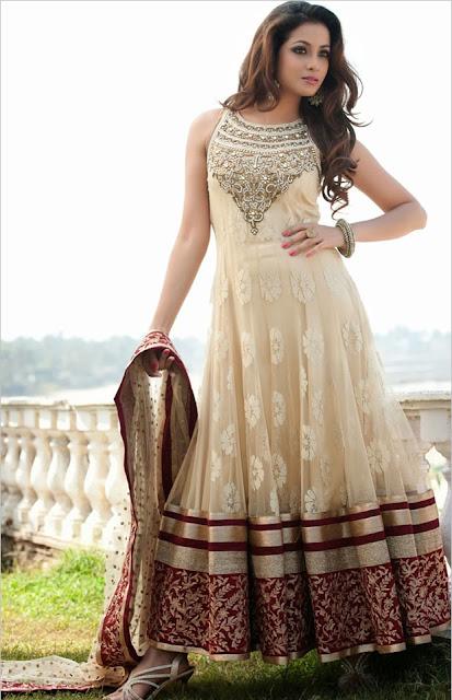 Floor Length Anarkali Dresses for the Elite