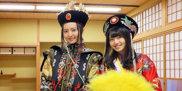 Moriyasu-Madoka-dan-Murayama-Yuiri-Bergabung-Parade-Festival-Nagasaki