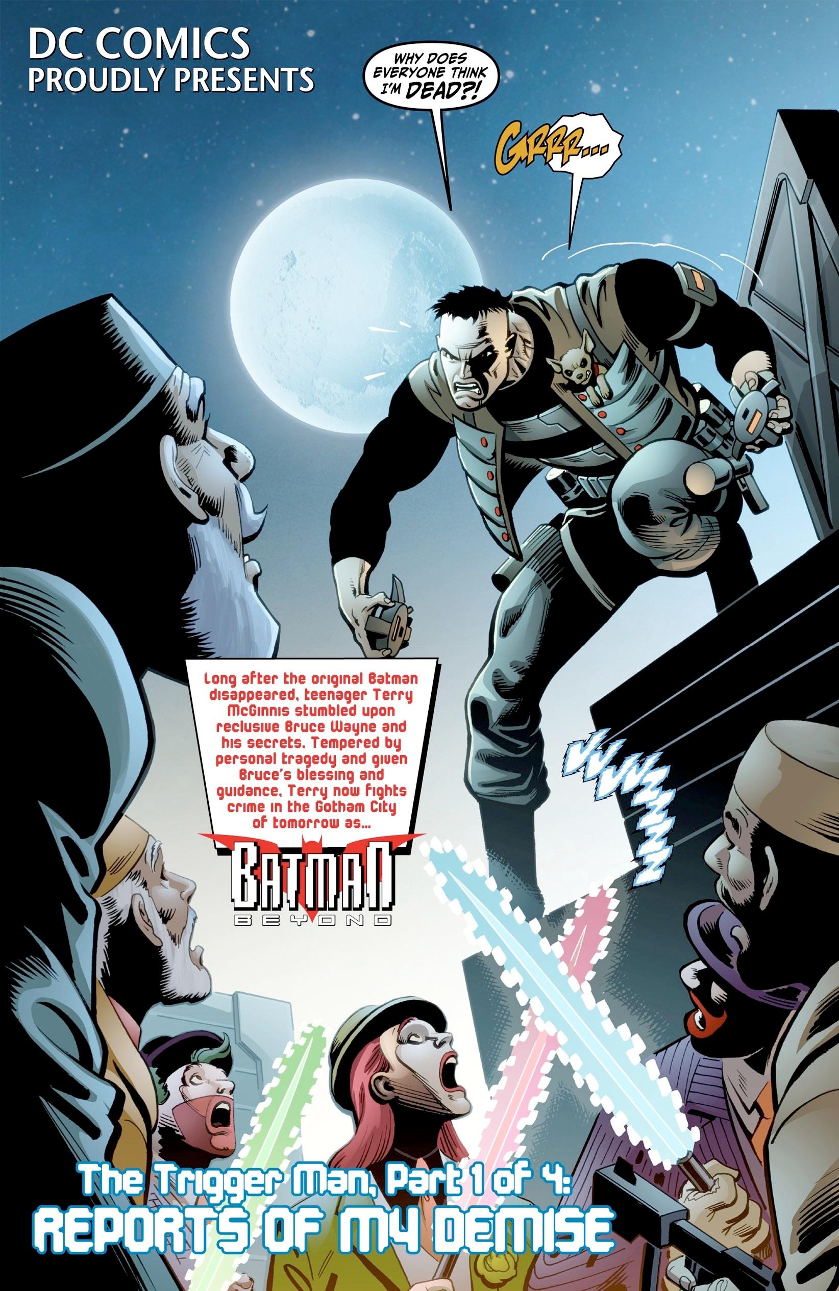 Batman Beyond (2012) Issue #3 #3 - English 5