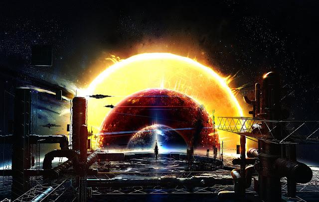 Alinhamento planetário no sistema solar, universo, 2036, planetas