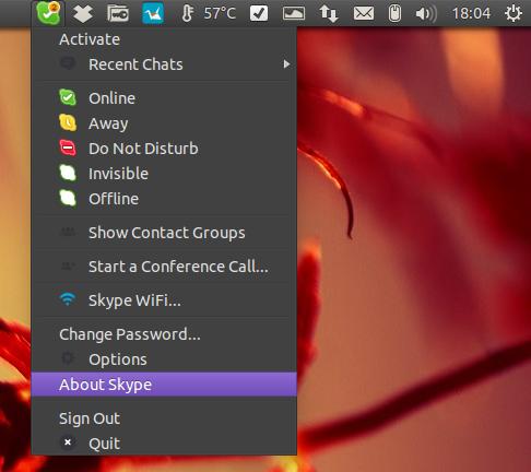 Skype 4.3 Linux screenshots
