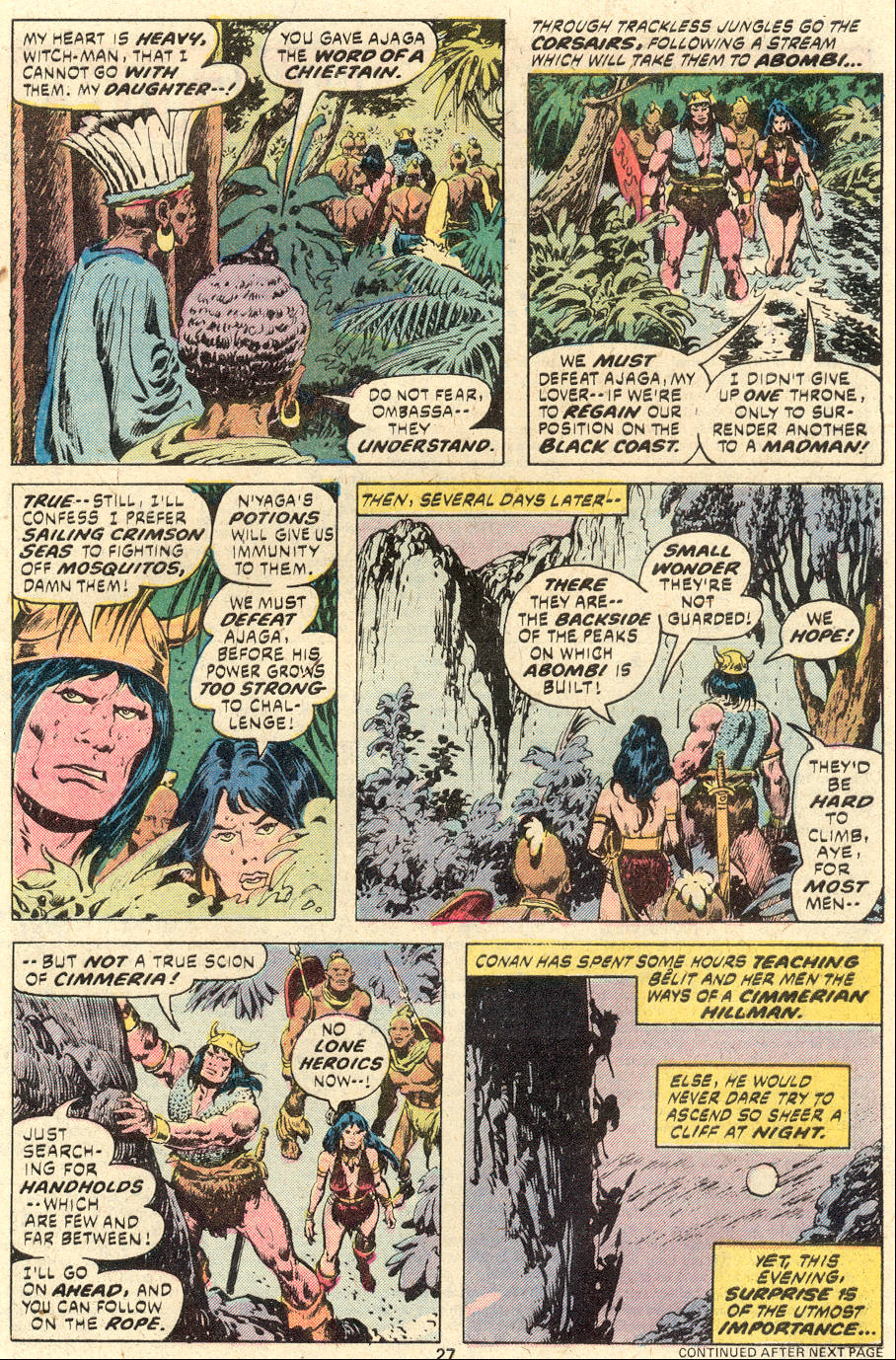 Conan the Barbarian (1970) Issue #94 #106 - English 16