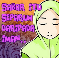 Sabar Iman pict