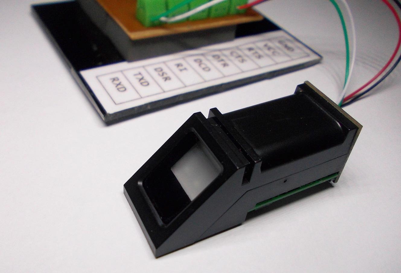 Dilshan R Jayakodys Web Log 2015 The Cm8870 Dtmf Decoder Datasheet Showing A Recommended Circuit Zfm 20 Fingerprint Sensor Test Setup With Ch340g Serial To Usb Converter