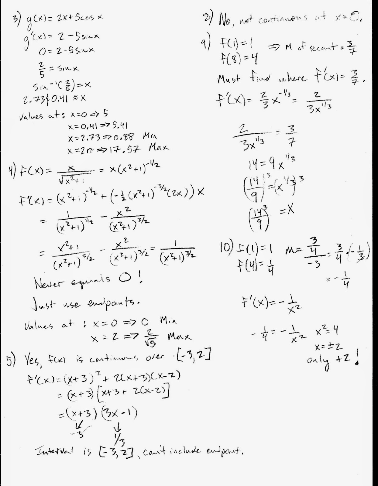 AP%2BCalc%2BChapter%2B3%2BReview%2BANS%2BPt%2B1 math problems calculus aprita com on quadratic word problems worksheet answers