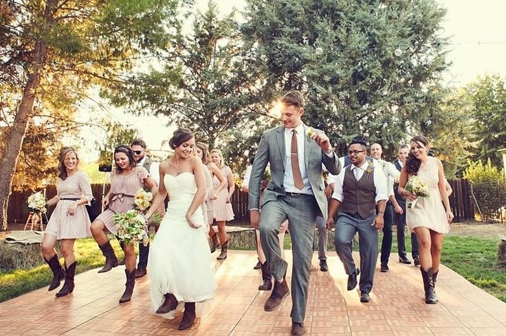 Bridal Party Line Dance