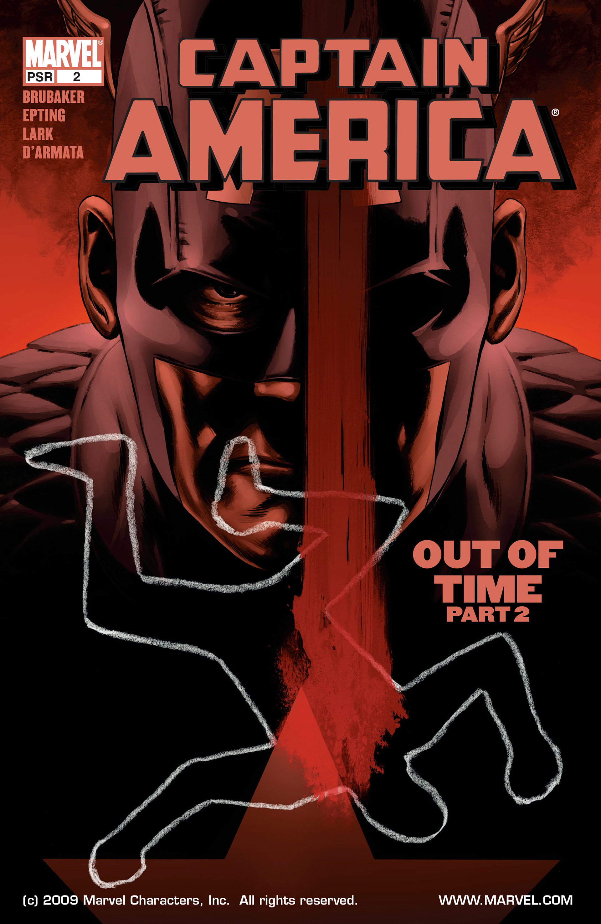 Captain America (2005) Issue #2 #2 - English 1
