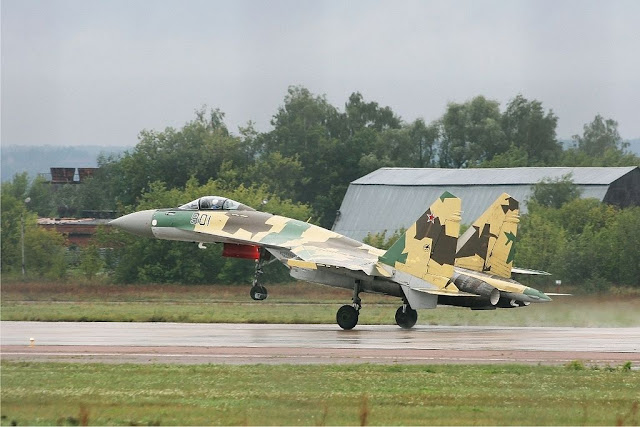 Sukhoi Su-35 takeoff
