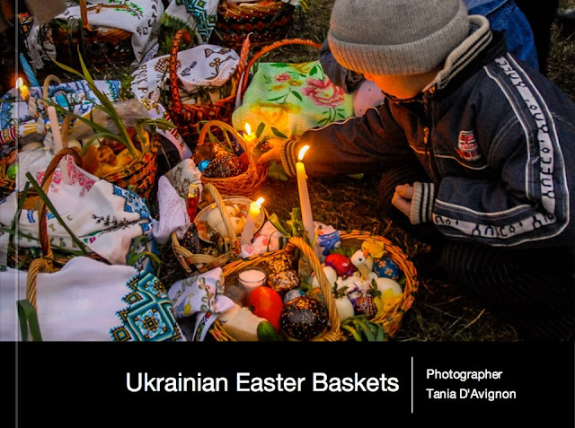Ukrainian Easter Baskets Book by Tania D'Avignon