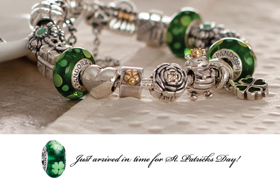 Pandora jewelry new st patrick 39 s day bead for pandora for Irish jewelry stores in nj