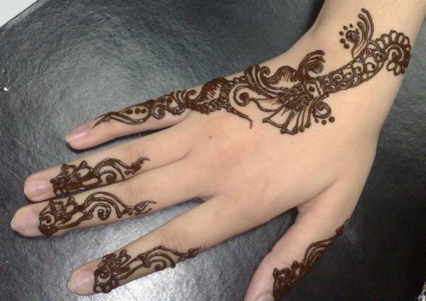 Mehndi Hand Name : Mehndi design for hands marriage