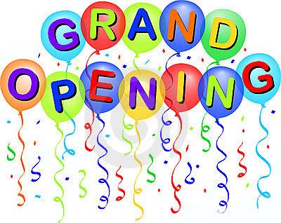 Grand Opening Clip Art Grand opening clip art