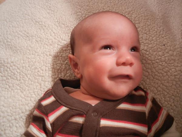 Luke at Six Weeks