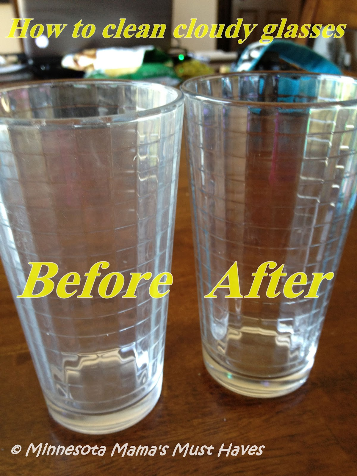 how to make cloudy plastic clear again