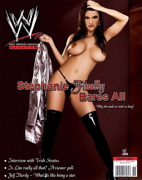 Stephanie Mcmahon Nude Showing Big Ass Pussy And Sucking The Cock Of