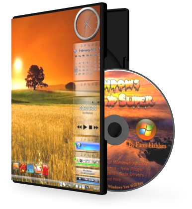 Windows Glass Xp SP 3 Super 2014