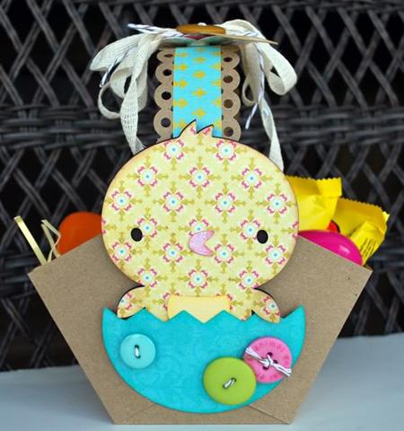 Оригинална кошничка за Великден