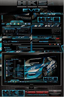 Download Theme HKS Evo for Windows 7