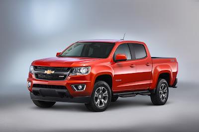 All-New 2016 Chevrolet Colorado Duramax Diesel Pickup